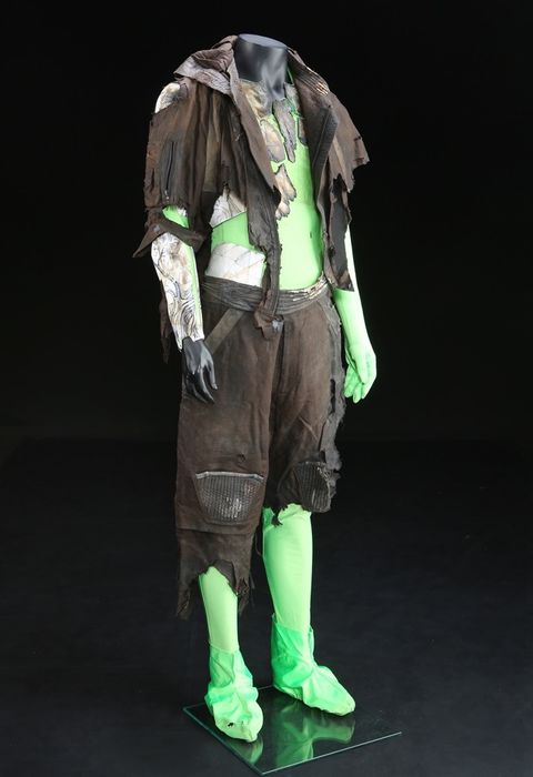 Kuzes (Michael Pitt) Post-Explosion Costume
