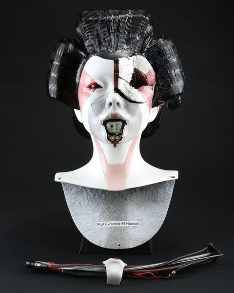 Post-Attack Geisha Head