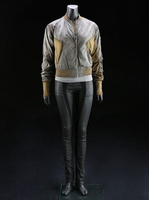 Majors (Scarlett Johansson) Bomber Jacket Costume