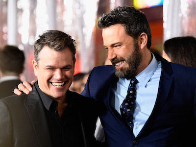 Ben Affleck Responds to Report Matt Damon Has a NEW BFF in BEST WAY Possible