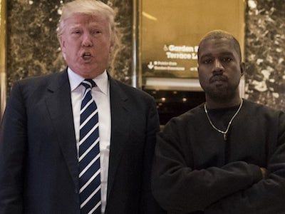 Kanye West Fans Are LIVID After He Compliments a HUGE Trump Supporter