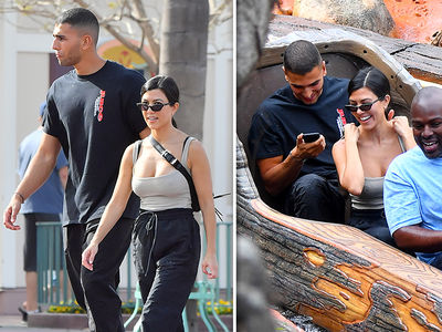 Kourtney Kardashian Celebrates 39th Birthday with Family at Disneyland