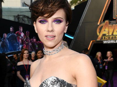 WOW, ScarJo Shows Off GIANT Back Tattoos at 'Avengers' Premiere -- Who Knew?!