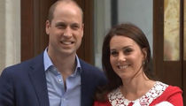 Kate Middleton Introduces New Baby Boy to the World!