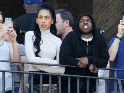 Kendrick Lamar Hits Vatican City w/ Fiancee
