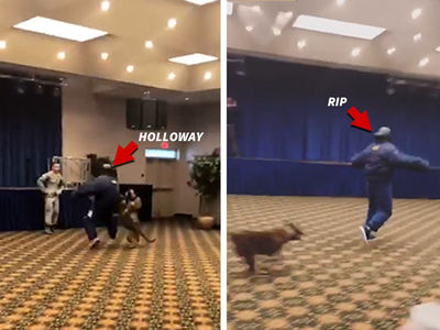 Max Holloway & Rip Hamilton Rocked By Military Attack Dogs!
