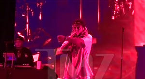 Lil Wayne Tells Concertgoers His People Will Shoot