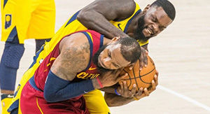 LeBron James Apologizes For Lance Steven Shove With Old-School Joke