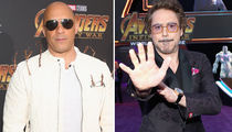 Vin Diesel Rocks Groot Roots At 'Avengers: Infinity War' Premiere
