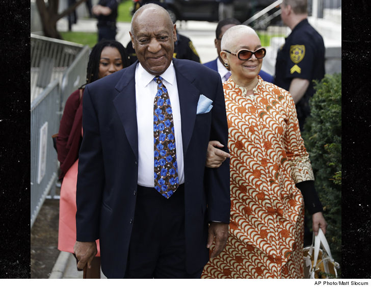 Bill Cosby's wife attended his retrial for the first time