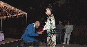 Derek Fisher Proposes to Gloria Govan, She Said 'Yes!'