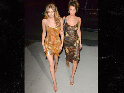 Gigi Hadid Parties with Long Line of Model Friends for 23rd Birthday