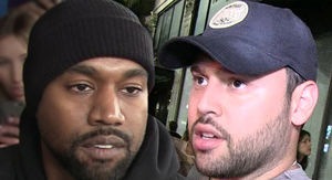 Kanye West Breaks with Scooter Braun and Sources Call Him Erratic