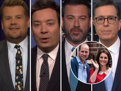 How Late-Night Celebrated Birth of Will & Kate's Royal Baby with a Few Savage Jokes