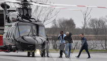 Meek Mill Boards Chopper Heading to 76ers Game!