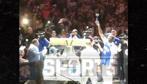 Meek Mill Gets Insane Ovation at Sixers Game After Prison Release