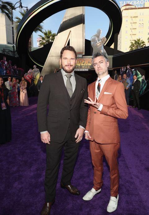Chris Pratt and Sean Gunn