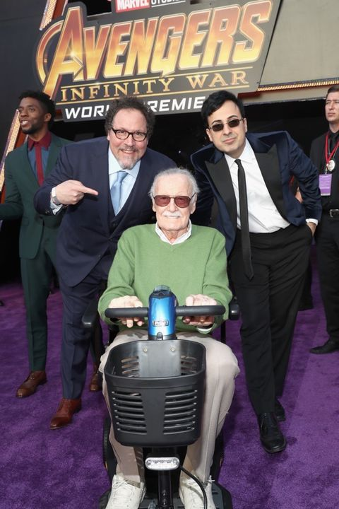 Jon Favreau and Stan Lee