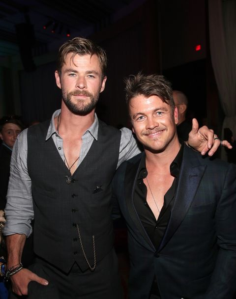Chris Hemsworth and Luke Hemsworth