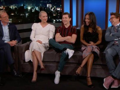 5 Must-See Moments as 'Avengers' Cast Takes Over Kimmel to Laugh, Draw & Show New Footage