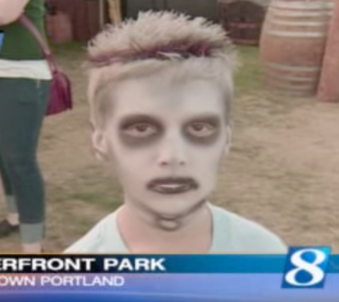 Jonathon Ware is best known for his video 'Zombie Kid Likes Turtles'