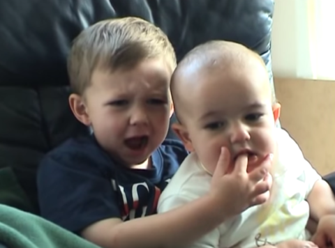 Harry & Charlie Davies-Carr are best known for their video 'Charlie Bit My Finger'