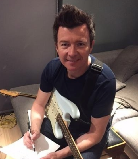 Rick Astley is now 52 years old