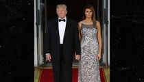 Melania and President Trump Reach Hand-Holding Peace Treaty