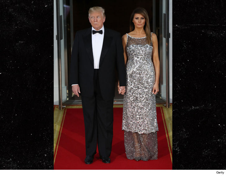 Melania to Prez Trump Fine, I'll Hold Your Hand in Public!! But, I Ain't Gonna Be Happy