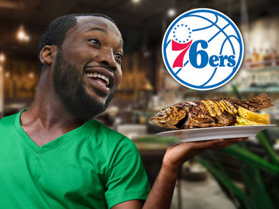 Meek Mill Enjoyed First Meal Outside of Prison After 76ers' Game 5 Win