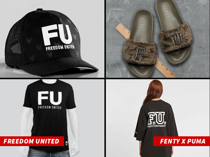 Rihanna Accused of Ripping Off Clothing Brand ... That's a Big FU!!!