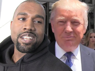 Kanye West Says He Loves Donald Trump and You Can't Change His Mind