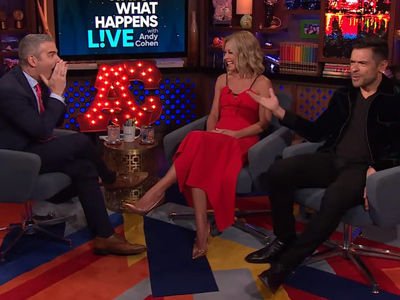 Ripa's Super-Sexual 'WWHL' Interview Leaves Andy Cohen & Mark Consuelos Absolutely Speechless