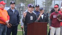 Republicans Hold First Congressional Baseball Practice Since Shooting