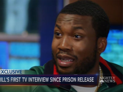 Meek Mill Tells Lester Holt He Still Doesn't Feel Free