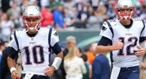 Jimmy Garoppolo Reacts To 'Creepy' Video Of Him & Tom Brady