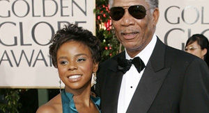 Morgan Freeman's step-granddaughter spoke about 'grandpa feelings' before her murder