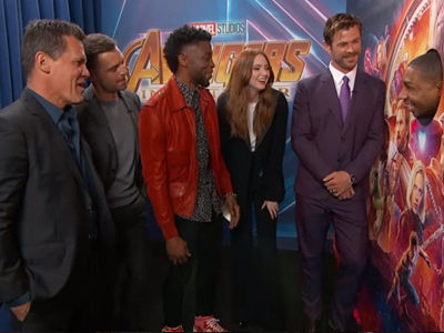 5 Times 'Avengers: Infinity War' Cast Made Us LOL on 'Jimmy Kimmel Live' Last Night
