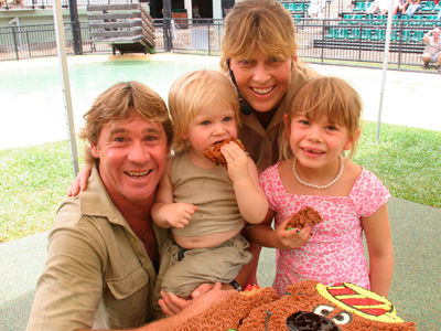 Steve Irwin Gets Walk of Fame Star -- Wait'll You See His Family NOW at the Ceremony!