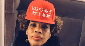 Macy Gray Wears a 'Make Kanye Great Again' Hat