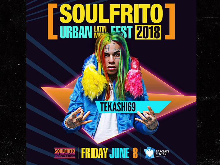 Tekashi69 Banned From Performing At Barclays Center After Shooting