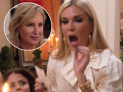 'RHONY' Gets HEATED When Tinsley Erupts on Sonja -- 'Shut Your Mouth & Shut Your F-cking Legs!'