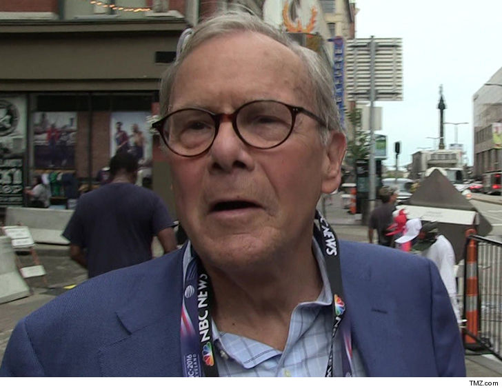 Tom Brokaw Denies Former Reporter's Sexual-Harassment Allegations