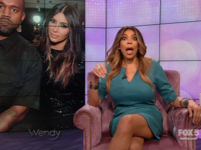 Wendy Mocks Kanye's Weight, Says He's 'In Danger' & Shouldn't Be Left 'Alone w/ the Children'