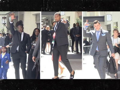 NFL Prospects Make Fashion Statements On Way to Draft