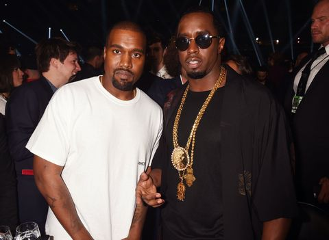 Kanye West and Sean Diddy Combs