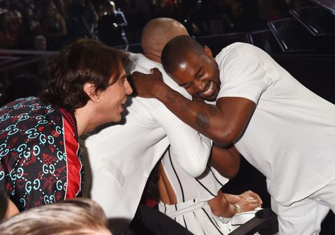 Jonathan Cheban and Kanye West