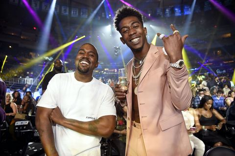 Kanye West and Desiigner