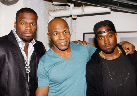 50 Cent, Mike Tyson and Kanye West