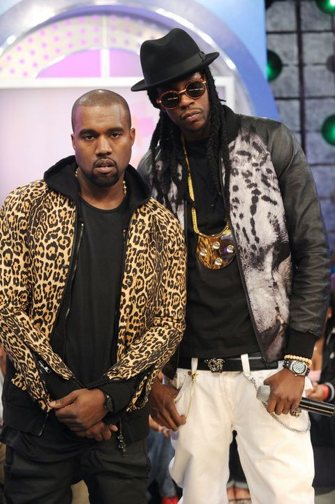 Kanye West and 2 Chainz